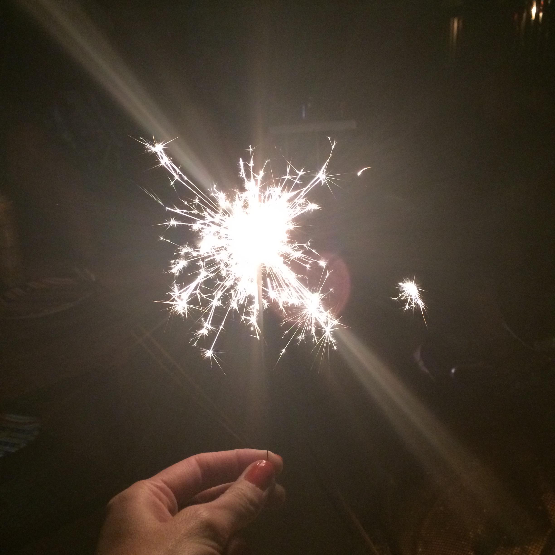 sparkly sparks