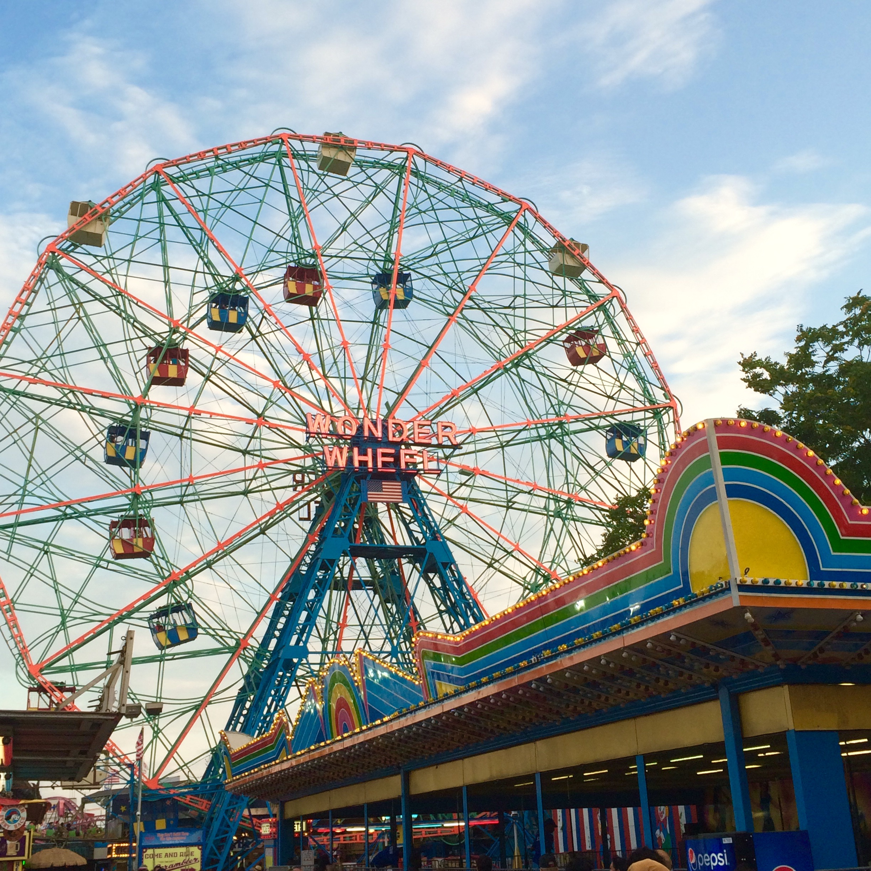 Coney Island Hott Sauce Beach Fun Boardwalk