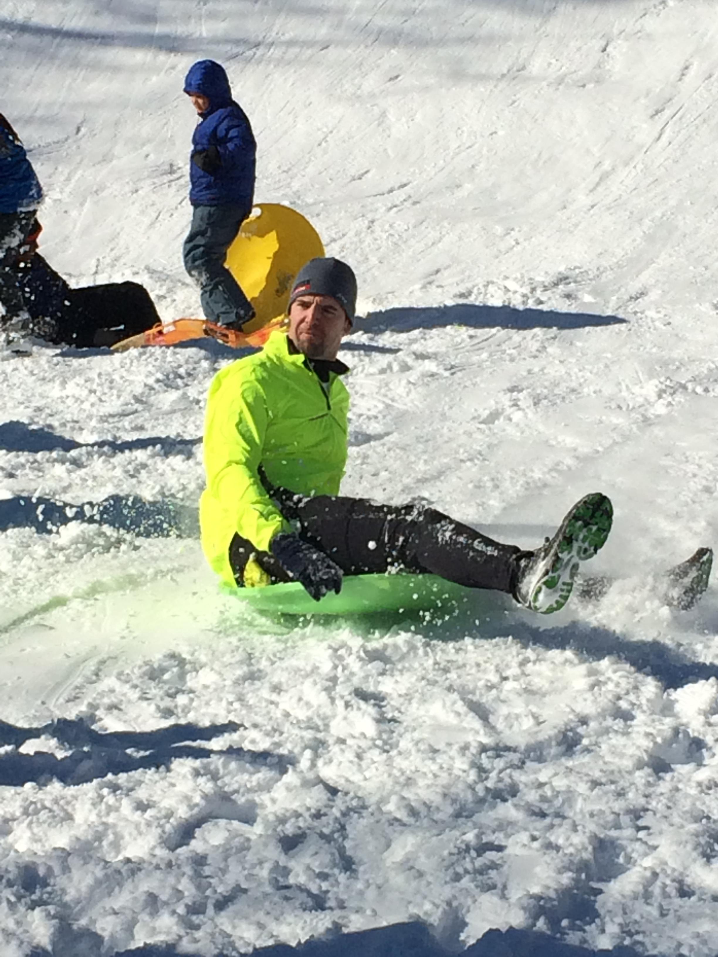 jeff sledding