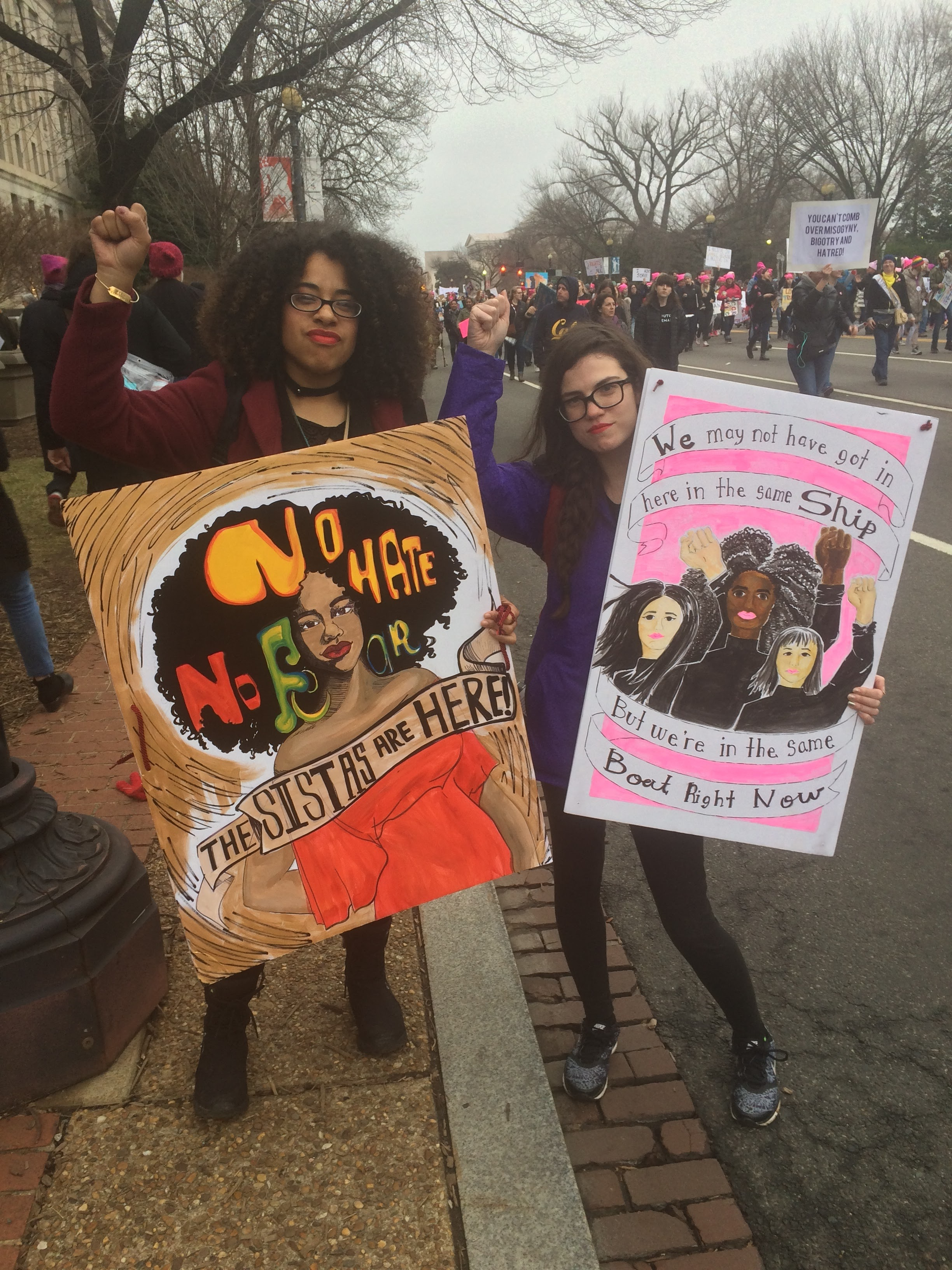 womens march resist
