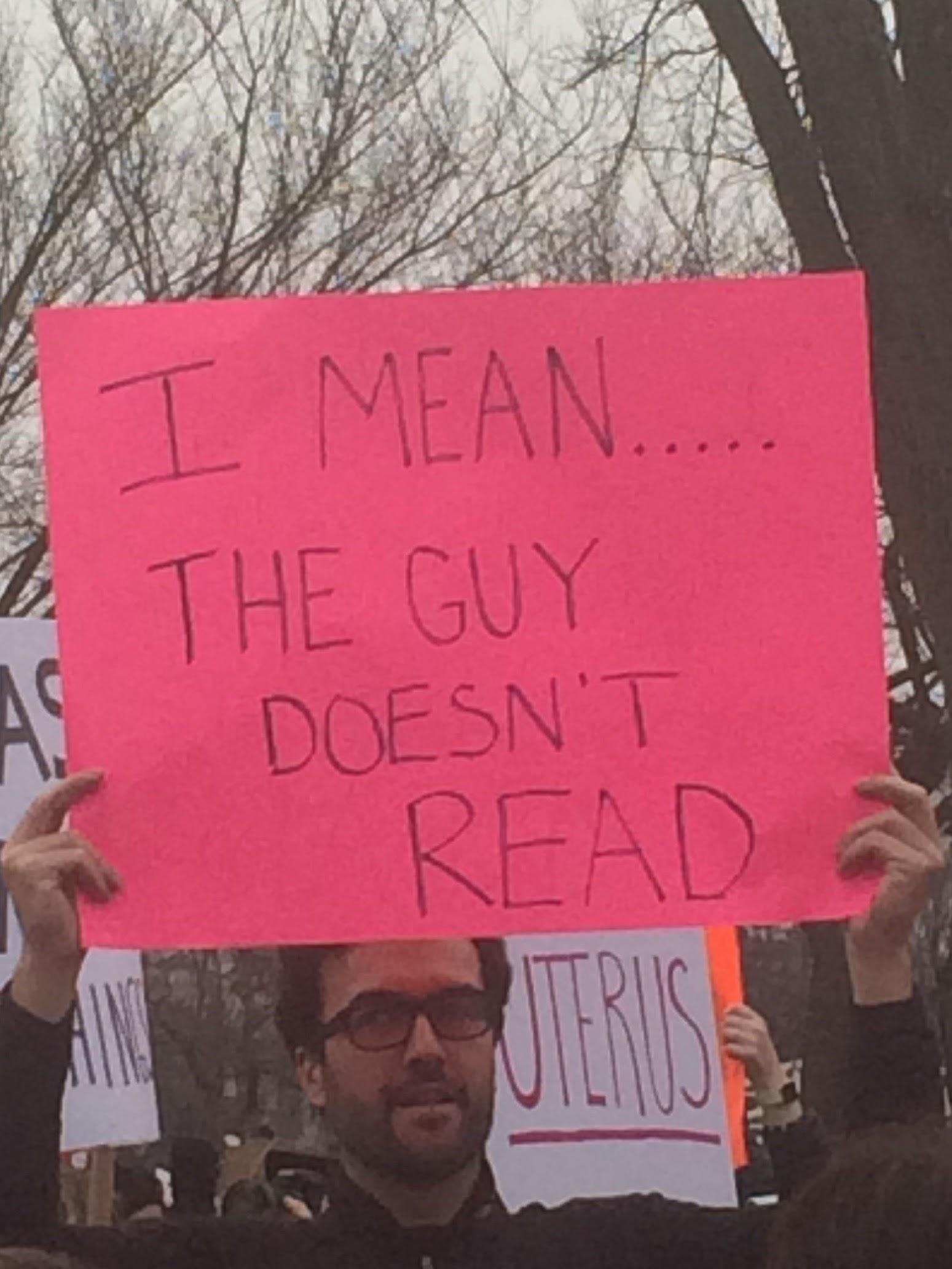 donald trump is illiterate