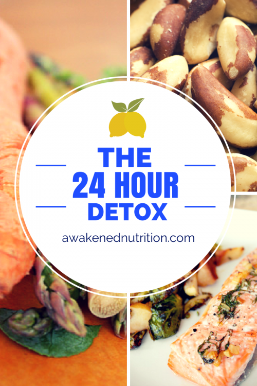 THE 24 HOUR DETOX