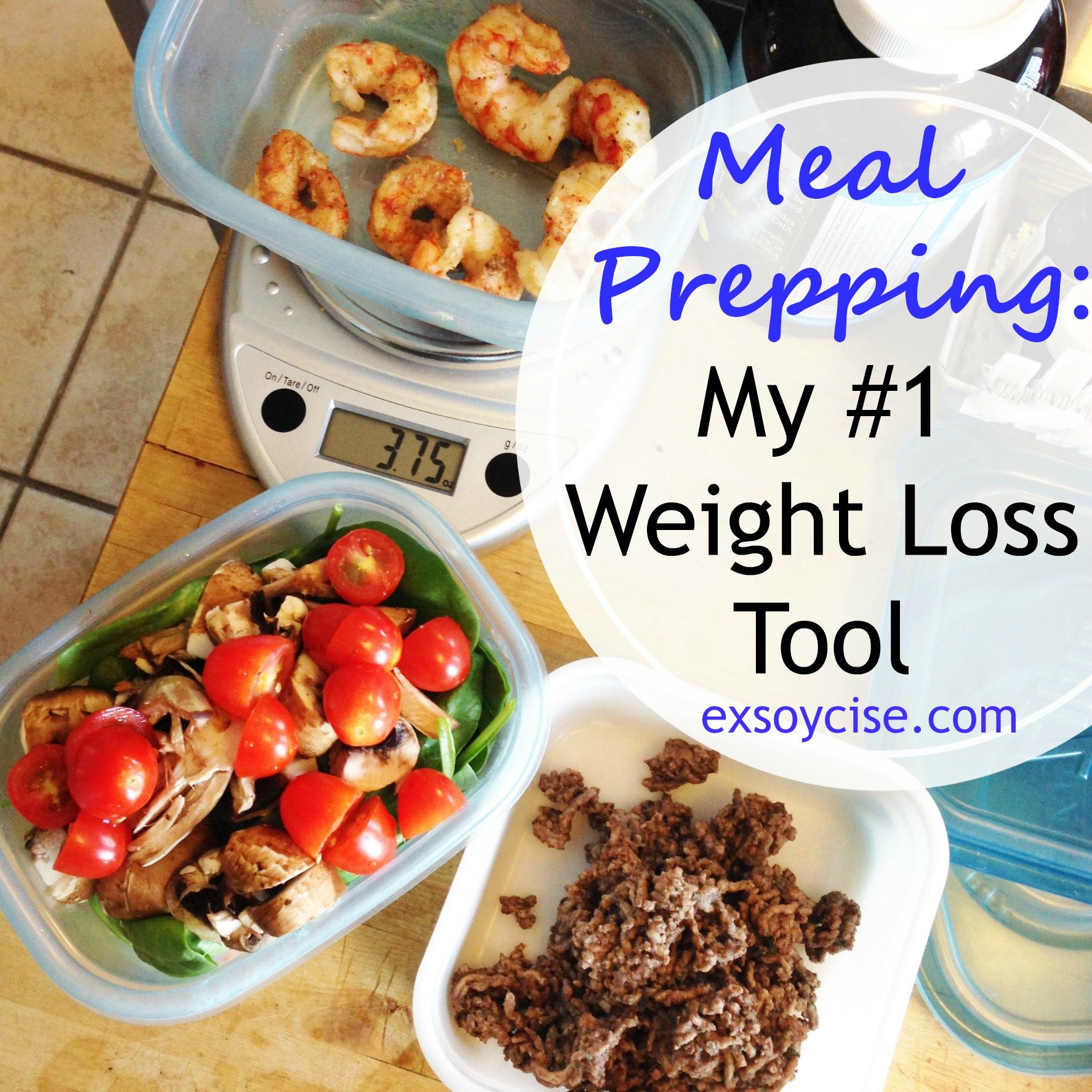 Meal Prepping: My #1 Weight Loss Tool + a Roasted Garlic Rosemary Chicken Recipe