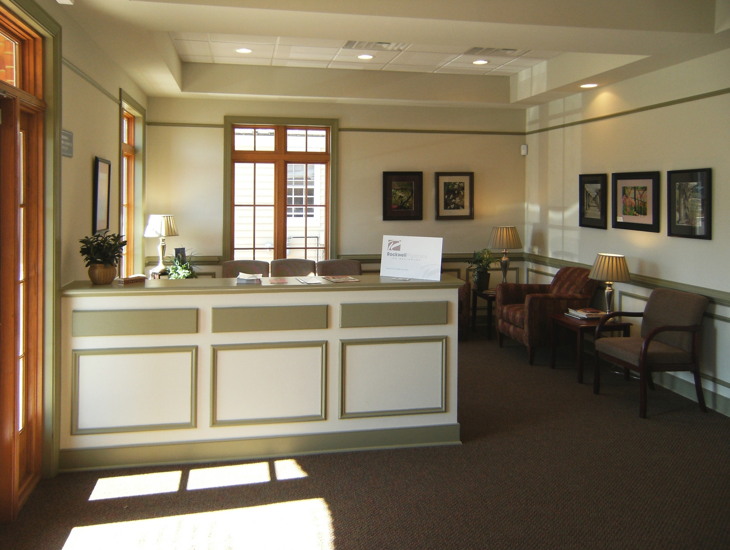 Rockwell Physicians - waiting room