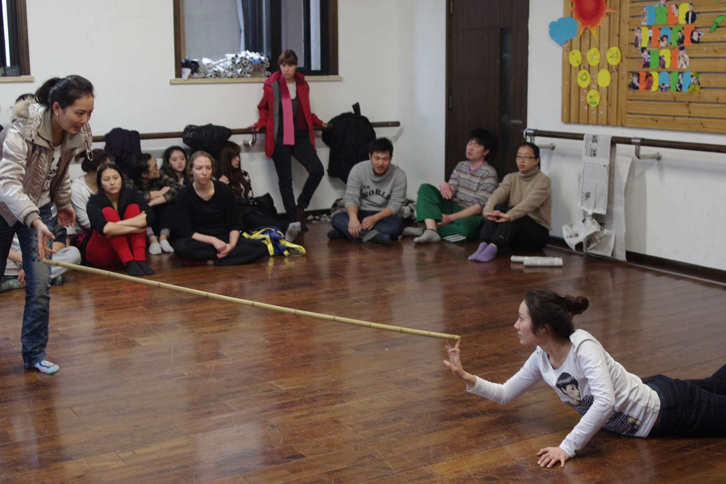 Workshop at Shanghai Theatre Academy