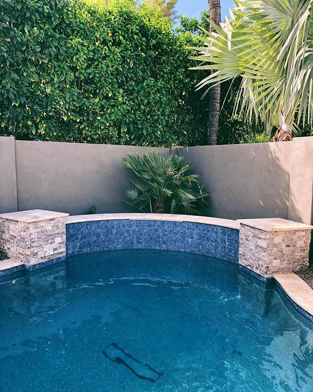 💙 New customer added for weekly service. Pool built by #RondoPools