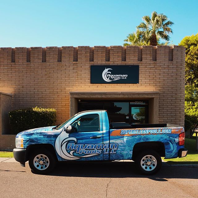☀️ We are proud to be a division of @aquamanpools here in Scottsdale, AZ. #BrothersPoolAZ #AquamanPools