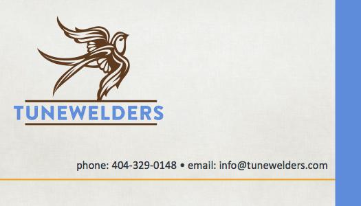 Tunewelders Business Card