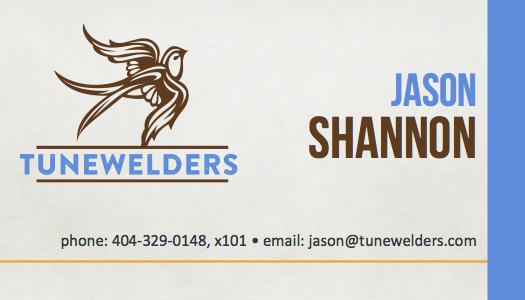 Jason Todd Shannon Business Card