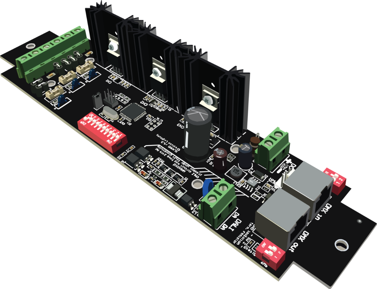 SLAMMO LED Driver (DALI/DSI/DMX/RDM 450W)