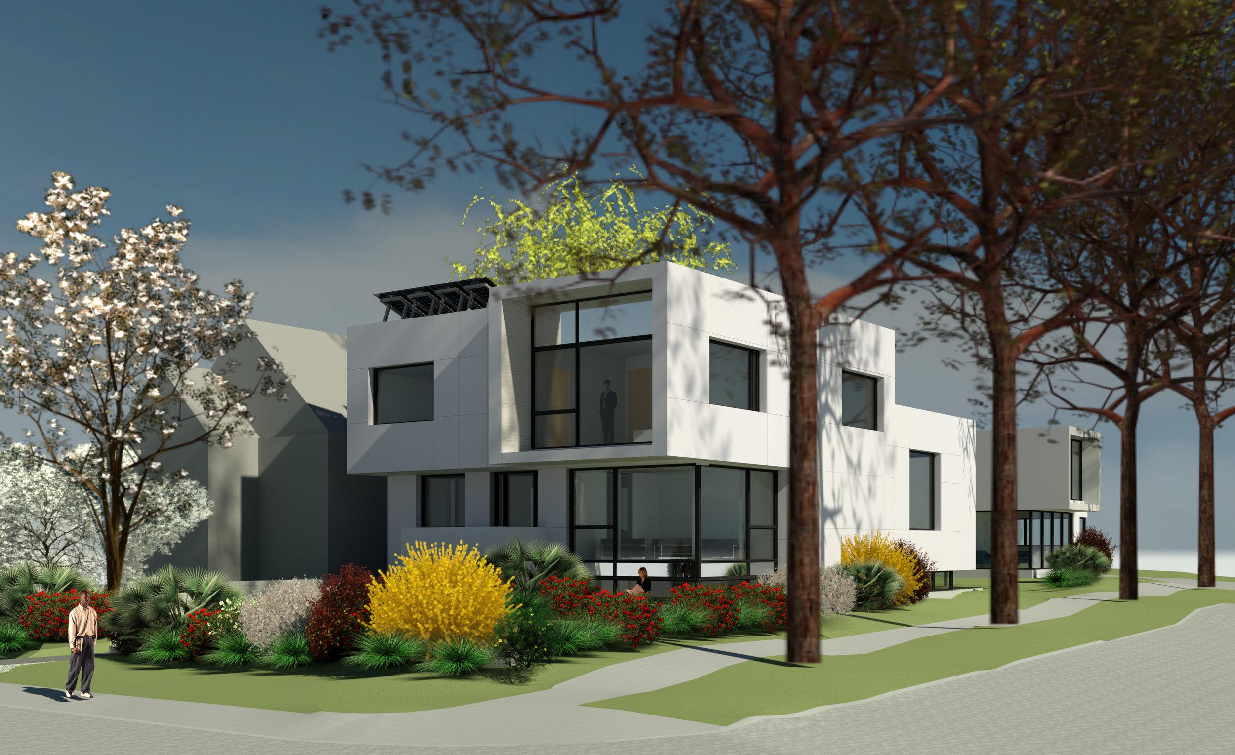 Vranakis Passive House by Siu Architecture Inc. Vincent Siu