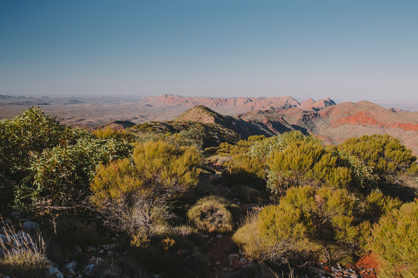 Larapinta Trail, Sections Four, Five and Six: Crossing the Chewings and Heavitree Ranges