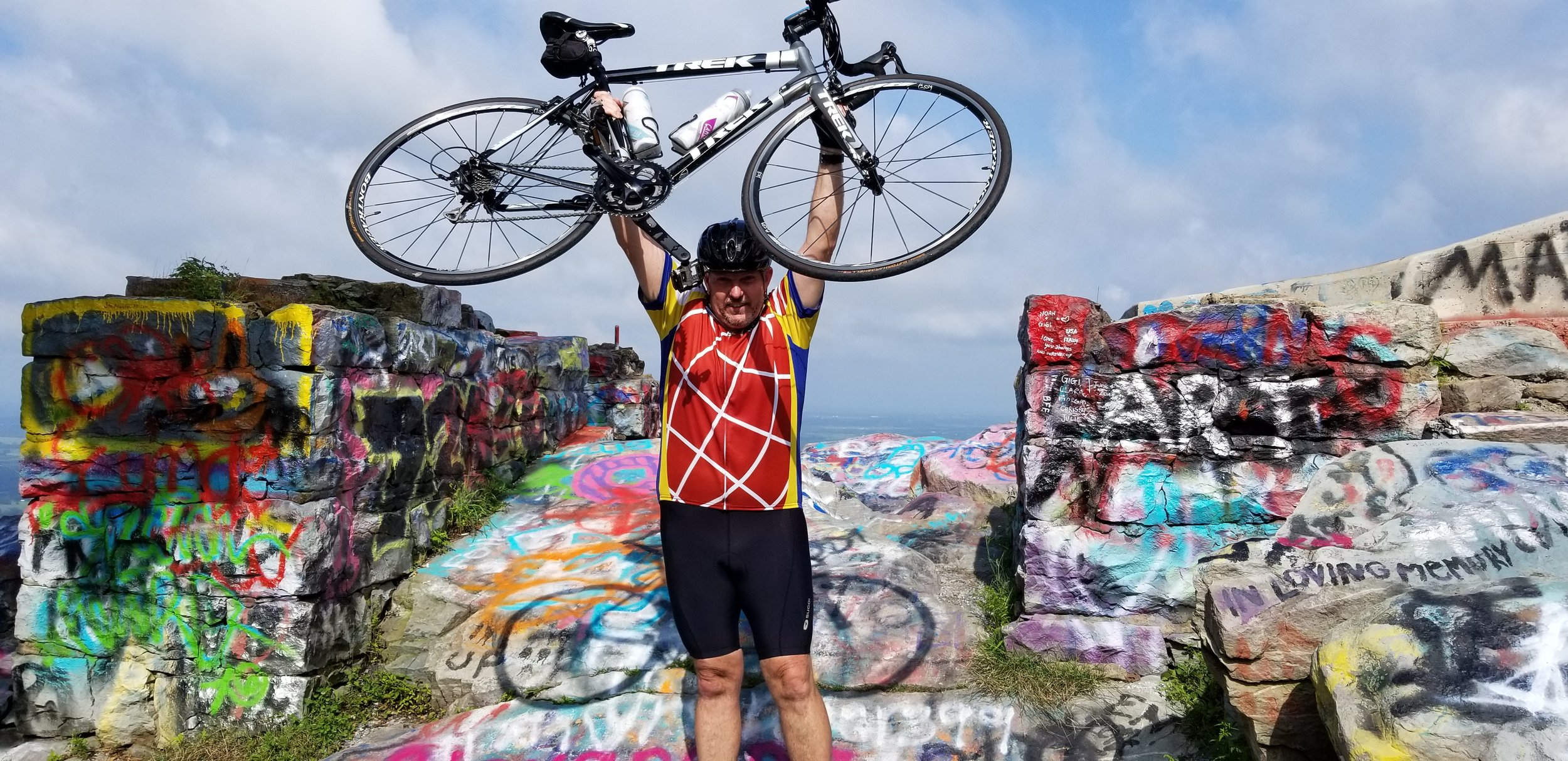 Meet C. Steven Gray: Never rode over 33 miles then goes out and does over a 100 miles in a day!