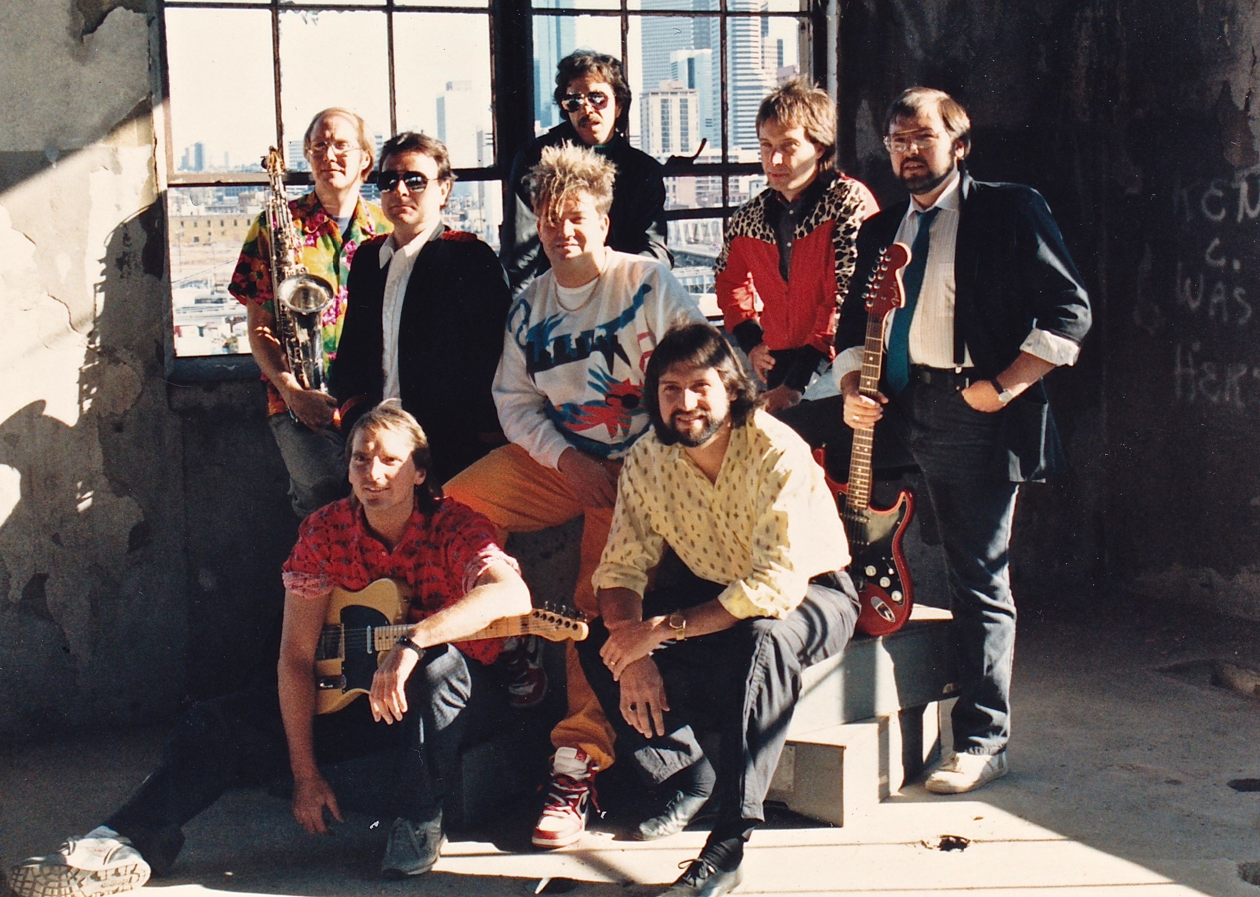 1985 Kings Promo Phot shoot Denver.jpg
