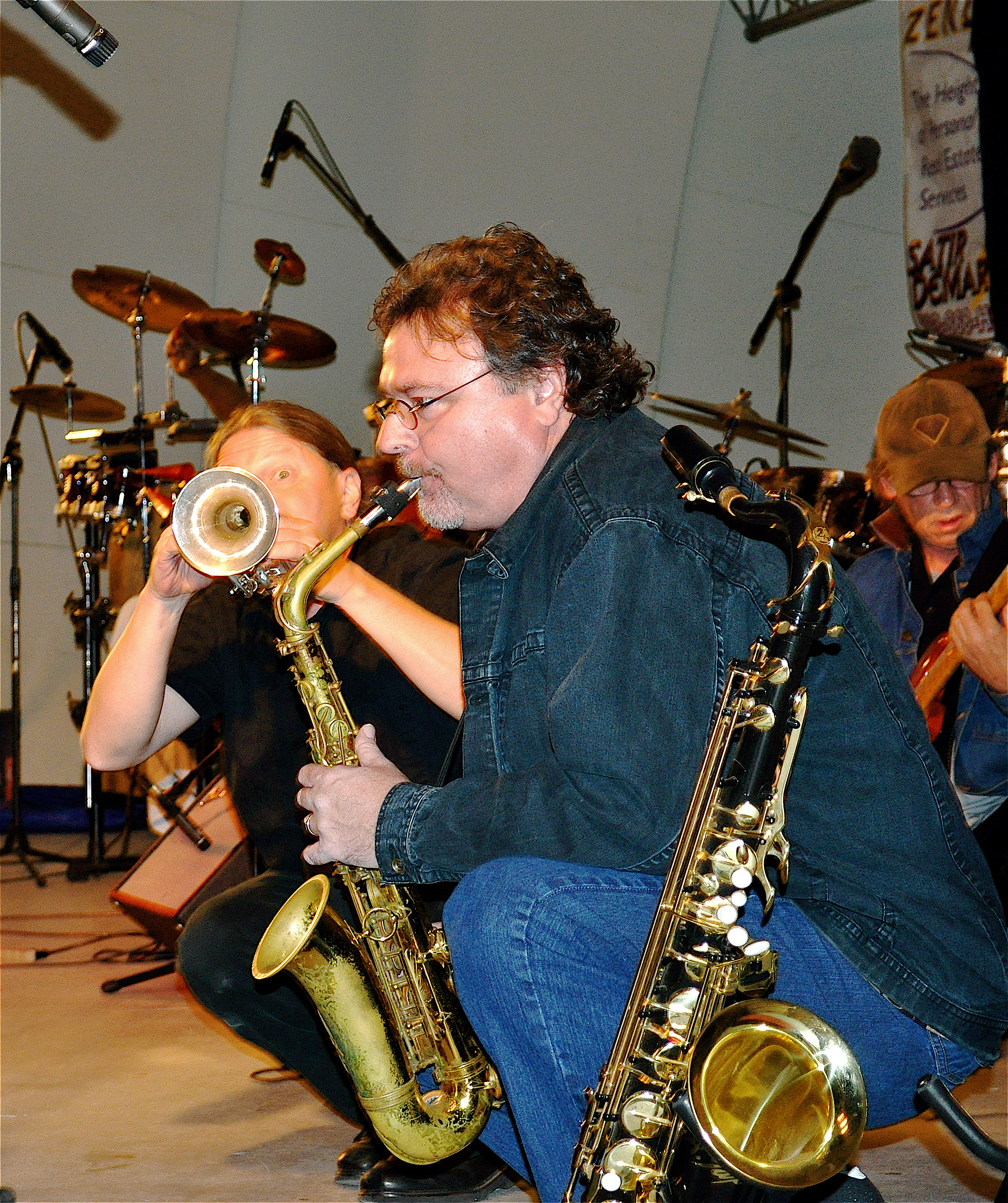 2014 Doody and Jim horns get down.jpg
