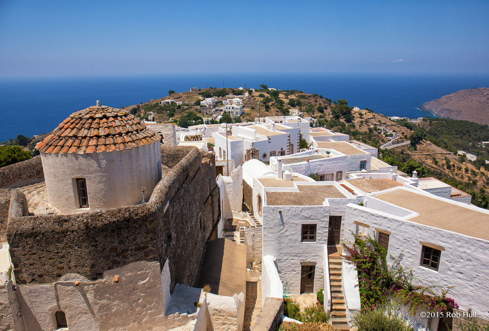 View from Monastery in Patmos