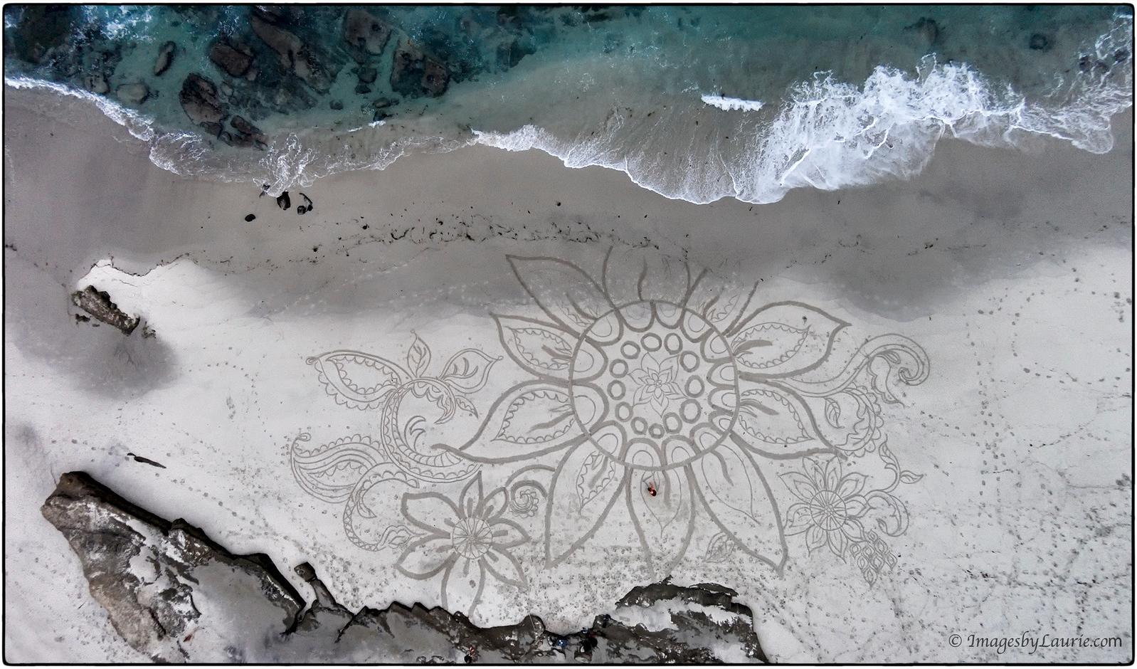 (Sand Art created by Diana Berti)