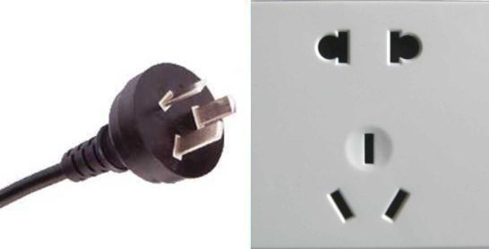 This is a common Chinese Multi Socket plug and receptical found in China.