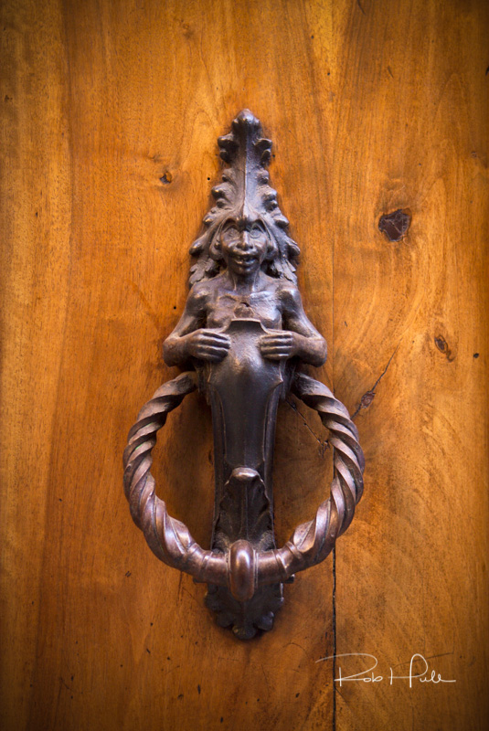 Siena Italy has an incredible variety of door knockers. Explore the city and see what piques your interest.