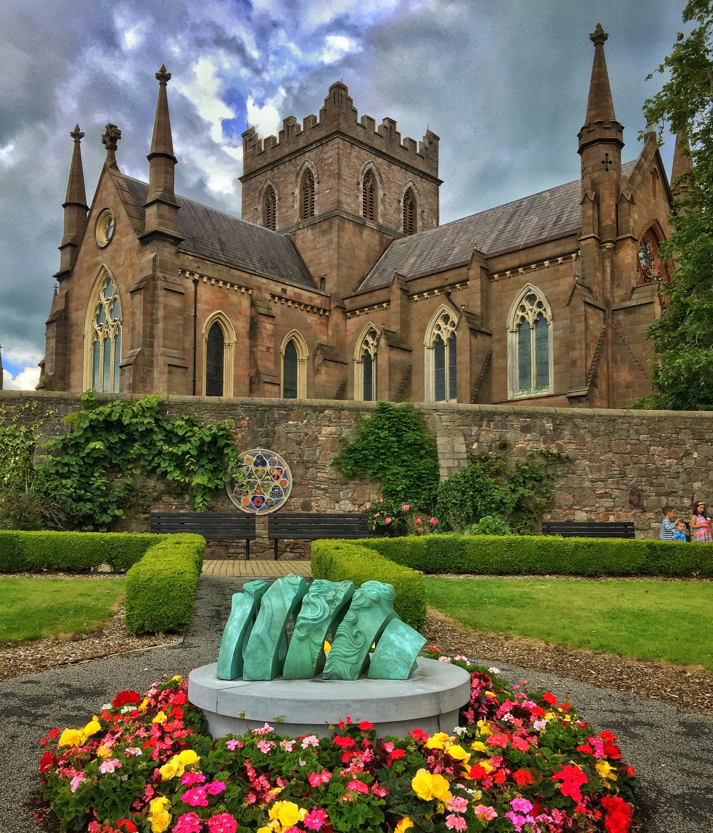 This is an iPhone shot from St. Patrick's Church of Ireland Cathedral in Armagh, Ireland.