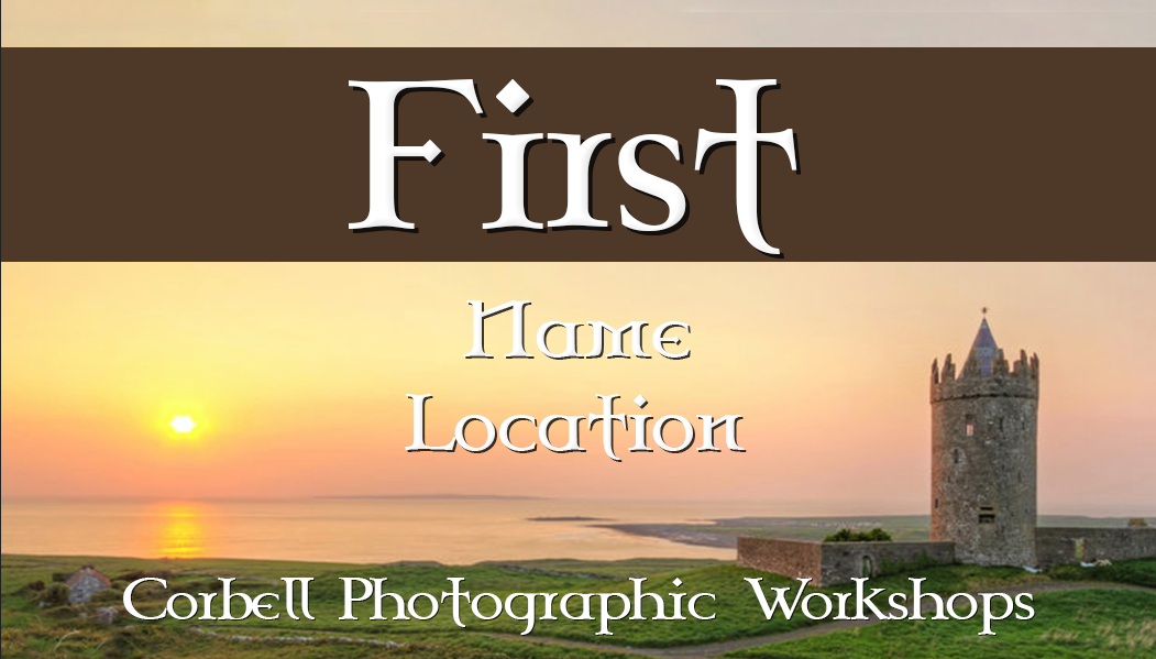 Use Photoshop to quickly create name badges, ID badges, or any other data variable images.