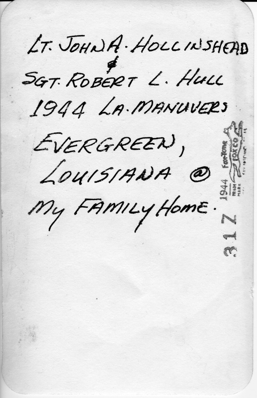 This was the text that we found on the back of the original photograph.