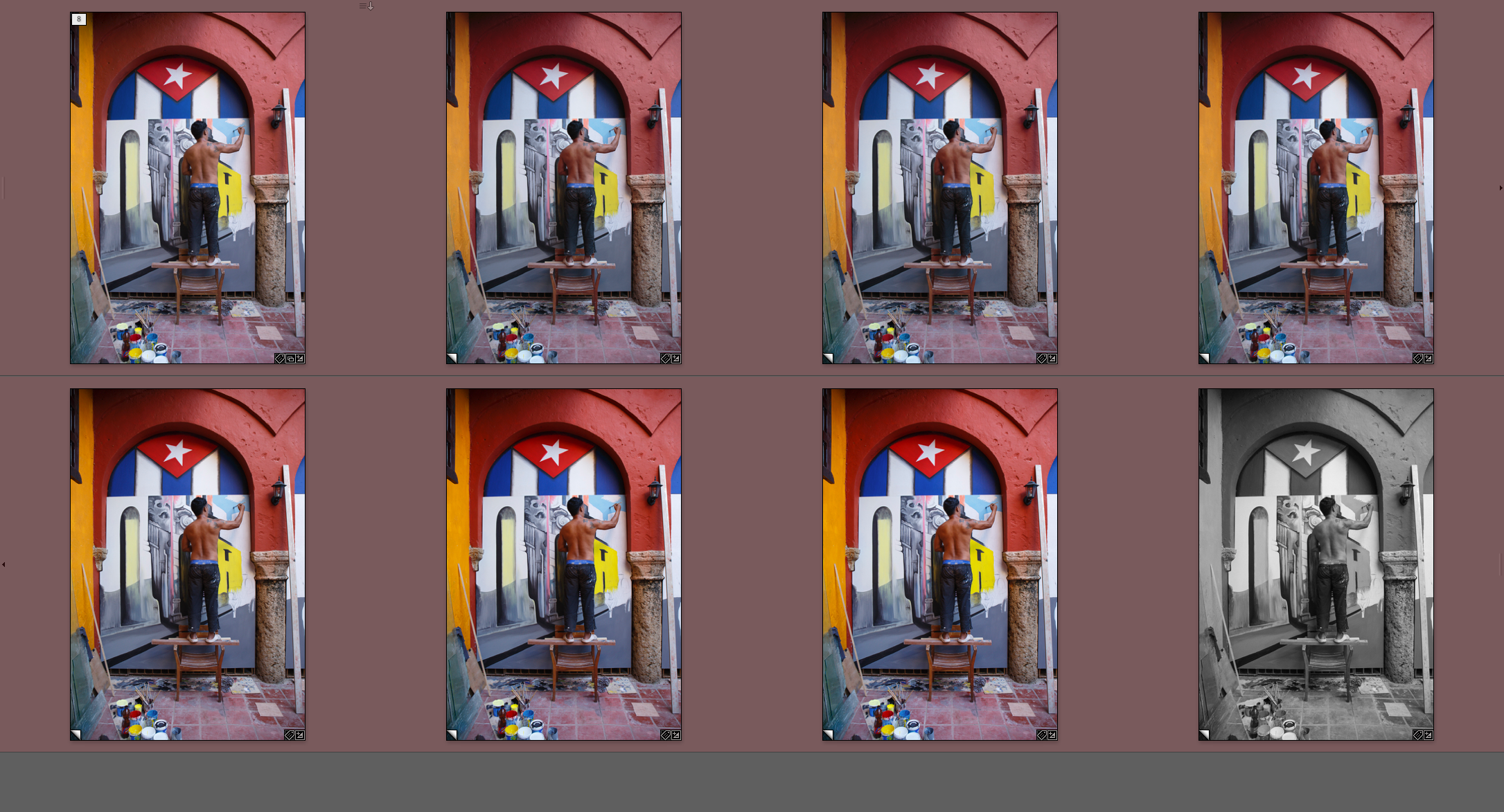 You can use Lightroom's Camera Calibration function to get your images to match the settings in your camera.