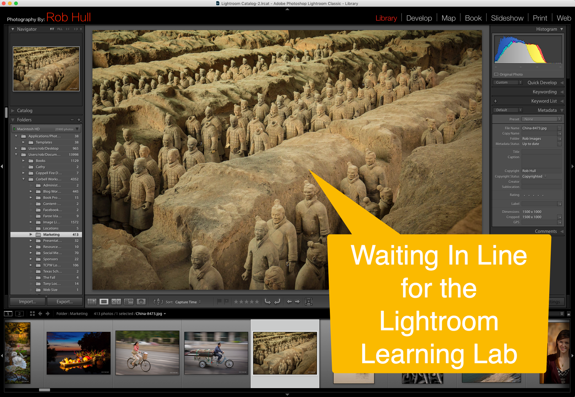 Don't get stuck in a rut for eternity. Learn how to make Lightroom work for you!