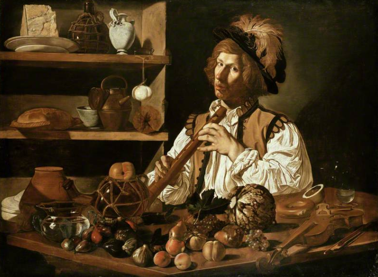 Rembrandt Lighting by Caravaggio