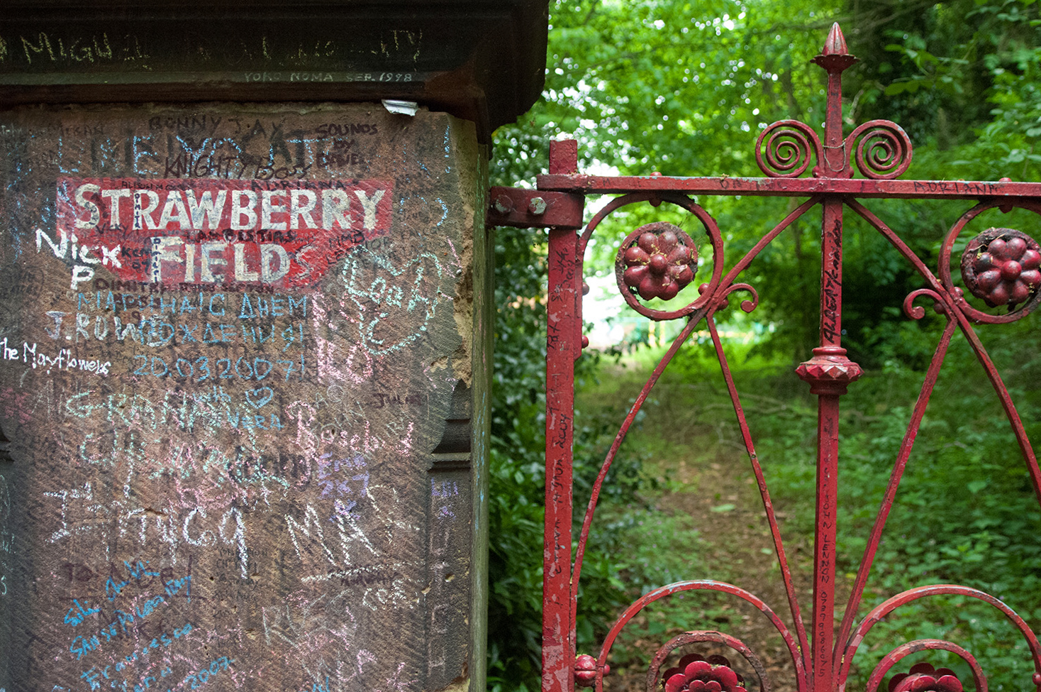 Strawberry Field is just one of the sights you'll see on our Liverpool photo tour.