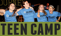 Teen Camp  is for campers in the 6th - 12th grade range.     Teen 5-Day: July 23 - 27