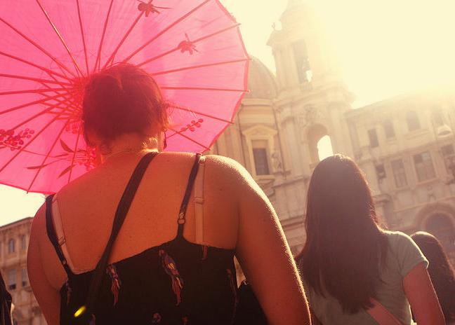Italian parasol