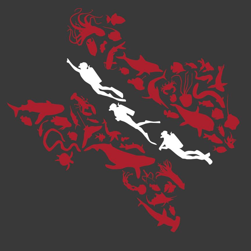 Shirt design for Texas A&M Scuba