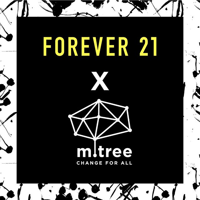 Our new collaboration with Forever21 featuring student artworks from Kenya  will launch nationwide on Wednesday, July 18th! . Many thanks to F21 for supporting our mission and pledging to donate 100% of the proceeds to Mtree and Creative Arts Education! . #f21xmtree #mtree #f21 #forever21