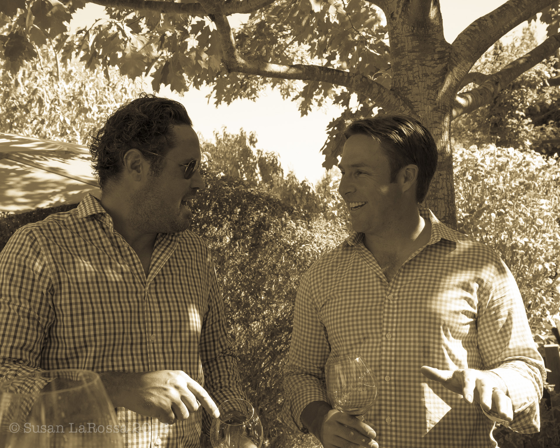 Winemaker Kenneth Juhasz and owner Chris Towt