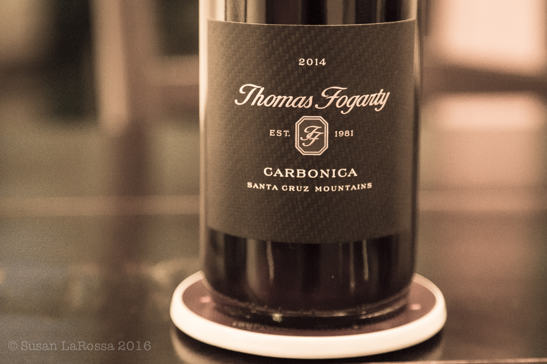 uber tiny production of Cabernet Franc, made carbonically