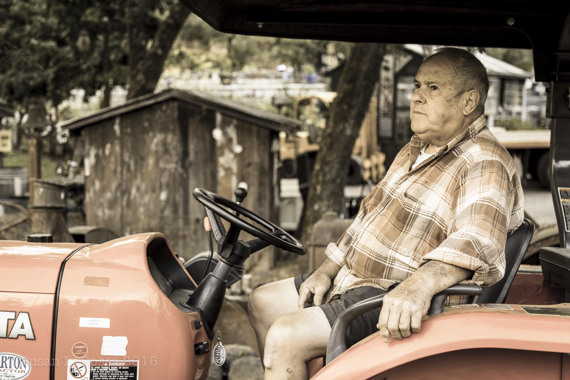 Steve Castelli, grape grower, Russian River Valley