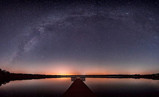 First attempt at a Milky Way pano 🌌