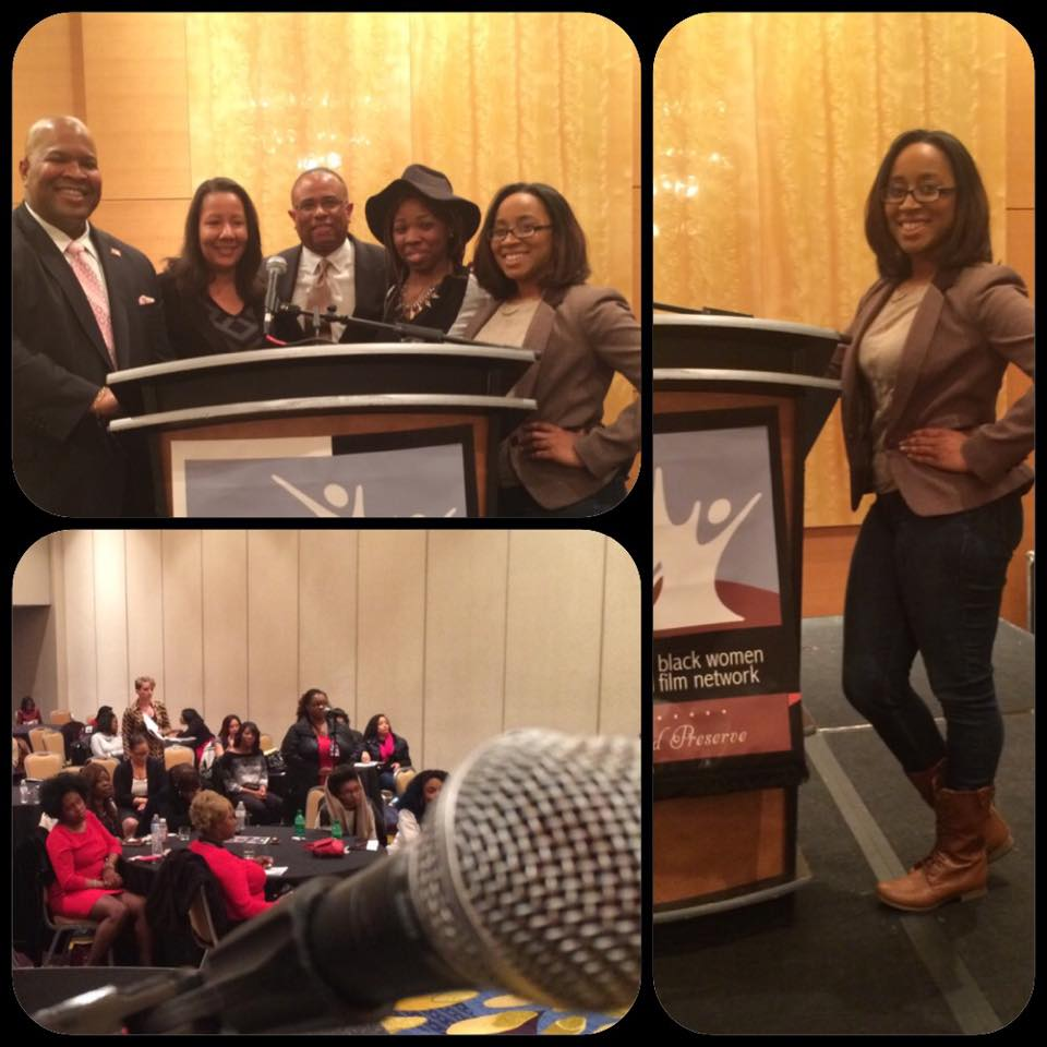 """Panel Moderator for """"The New Deal"""" at the Black Women Film Summit"""