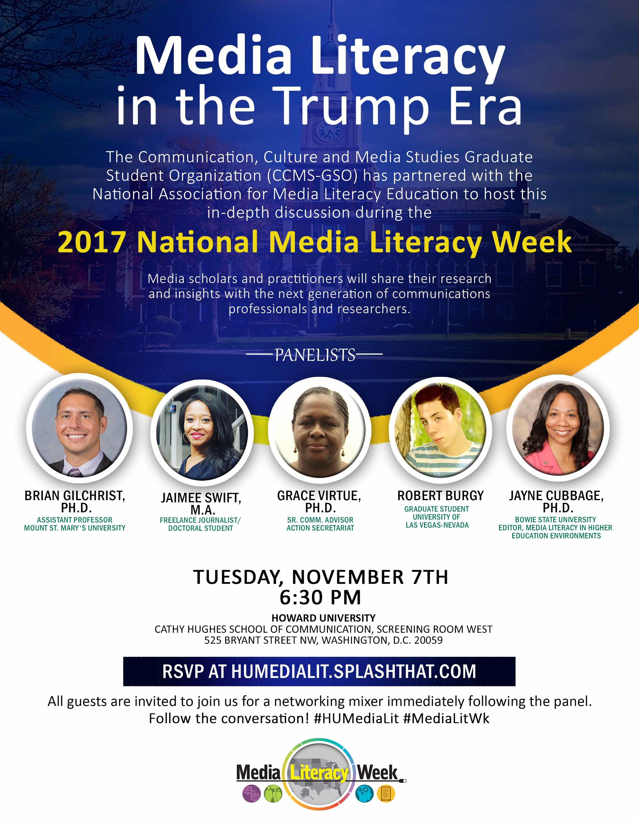 Event Organizer: Media Literacy in the Trump Era