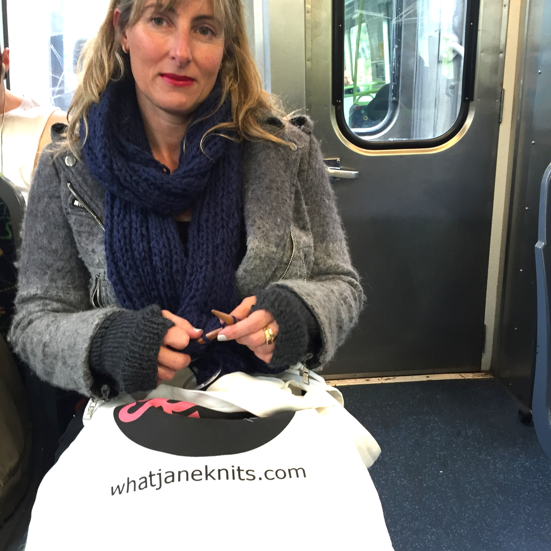 wjk train knitting