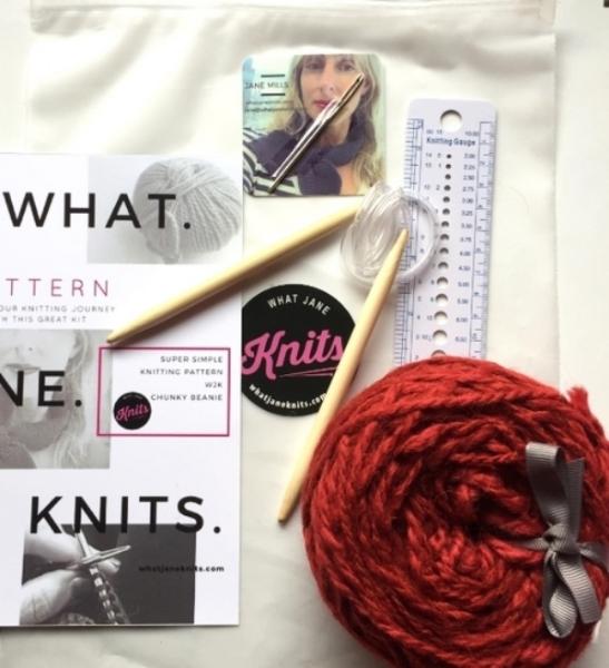 Chunky Knit Beanie Kit