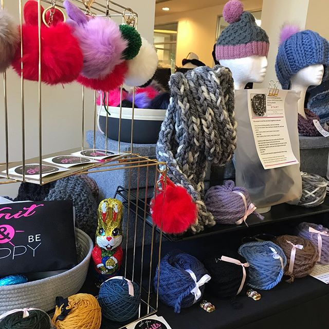 Market day at @hawthornmakersmarket come along 10 - 3pm #community #knit #create