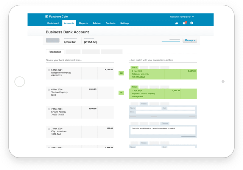 xero cloud accounting from anywhere
