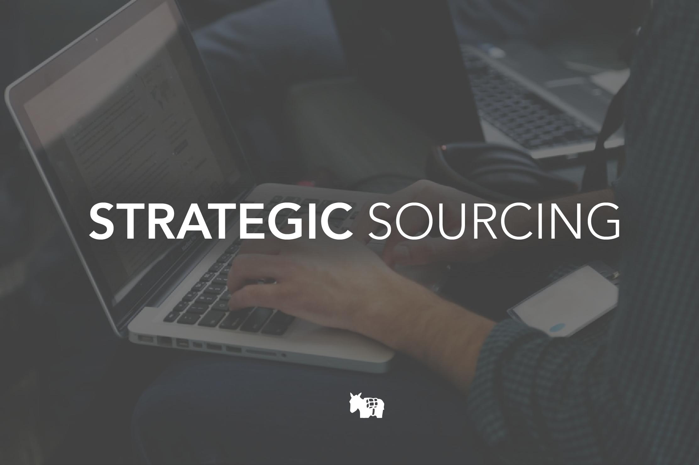 strategic sourcing local supplier spend