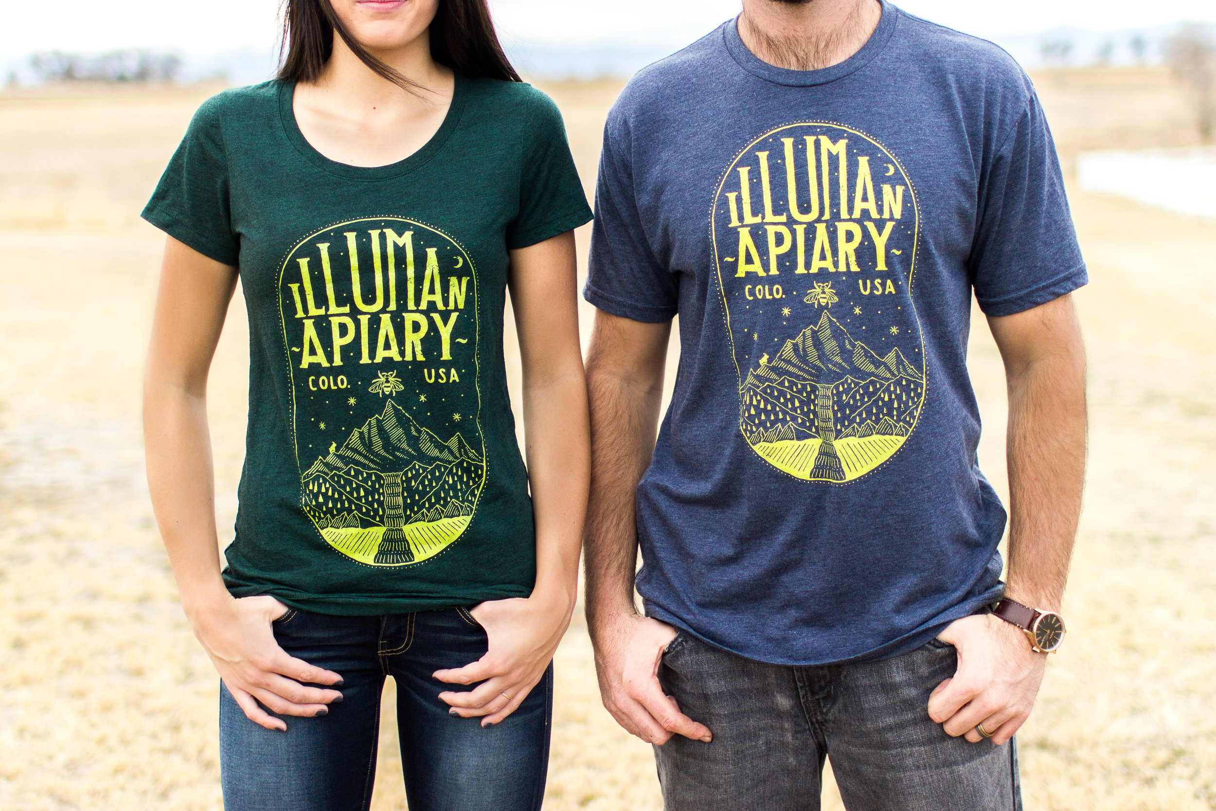 Tri-blend Eco Friendly T-Shirts with a mission