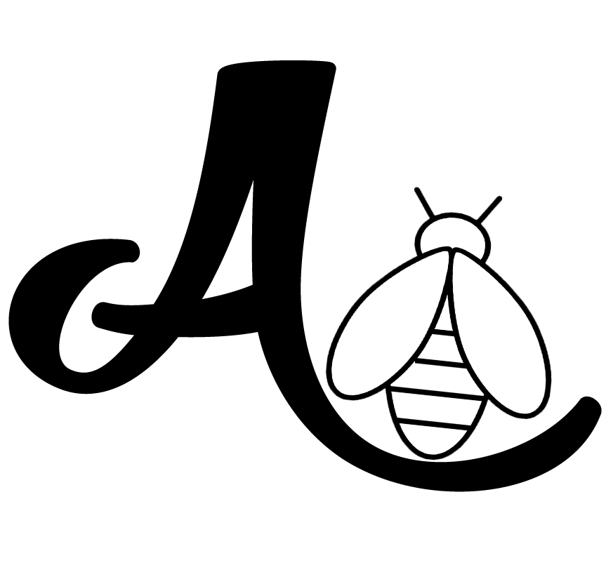 AliBee_AwithBee_B&W.png