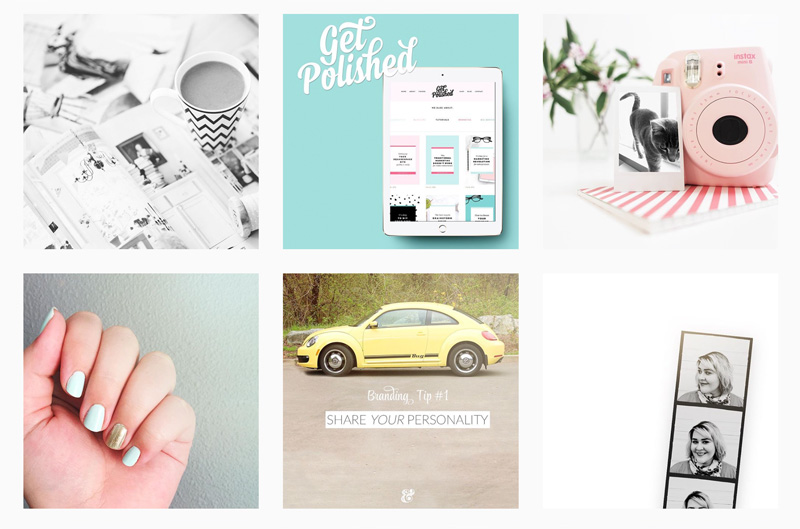 Branded Instagram Feed - Resources from Your Ampersand Studio