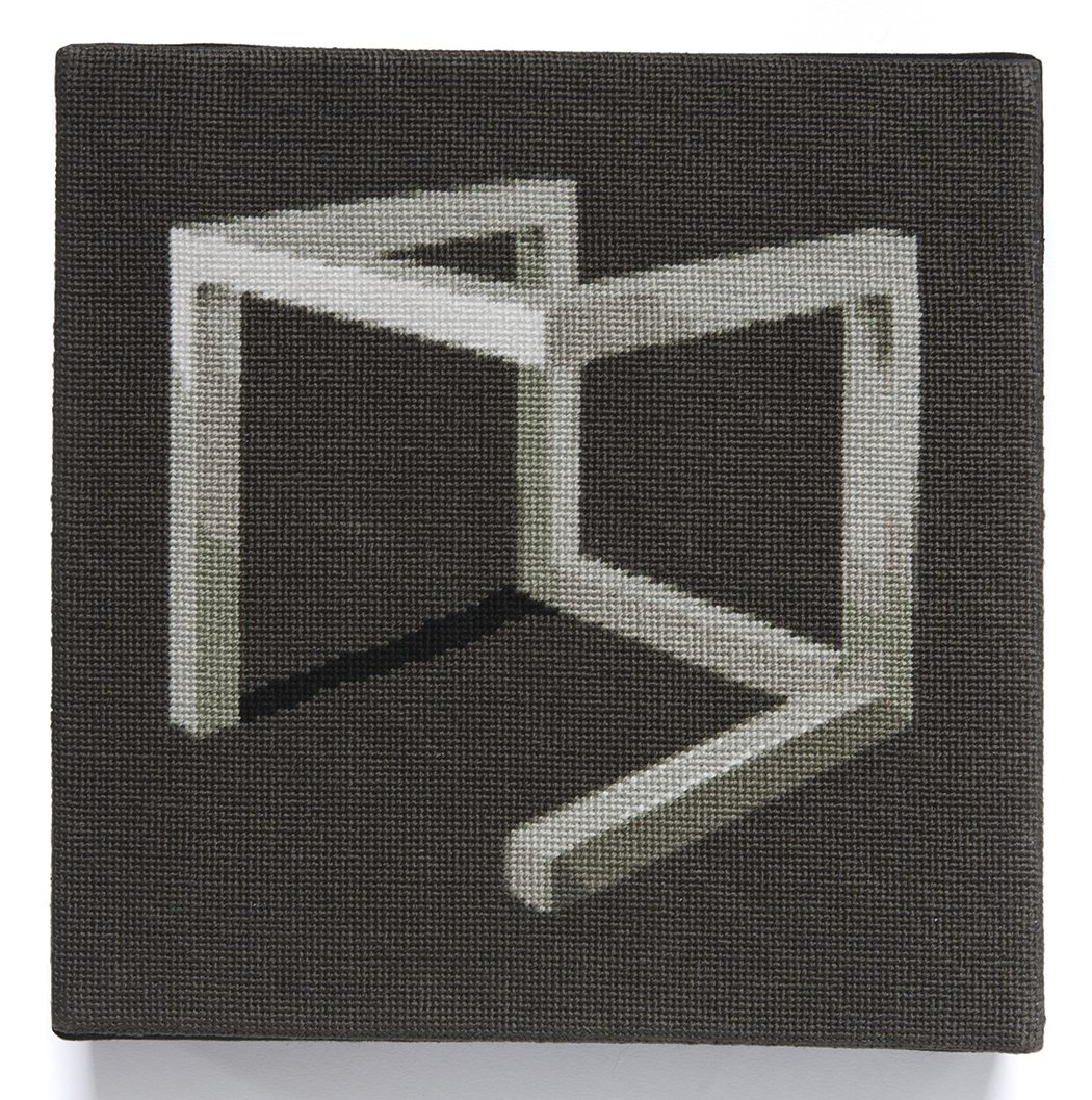 LeWitt:  Incomplete Open Cube #1