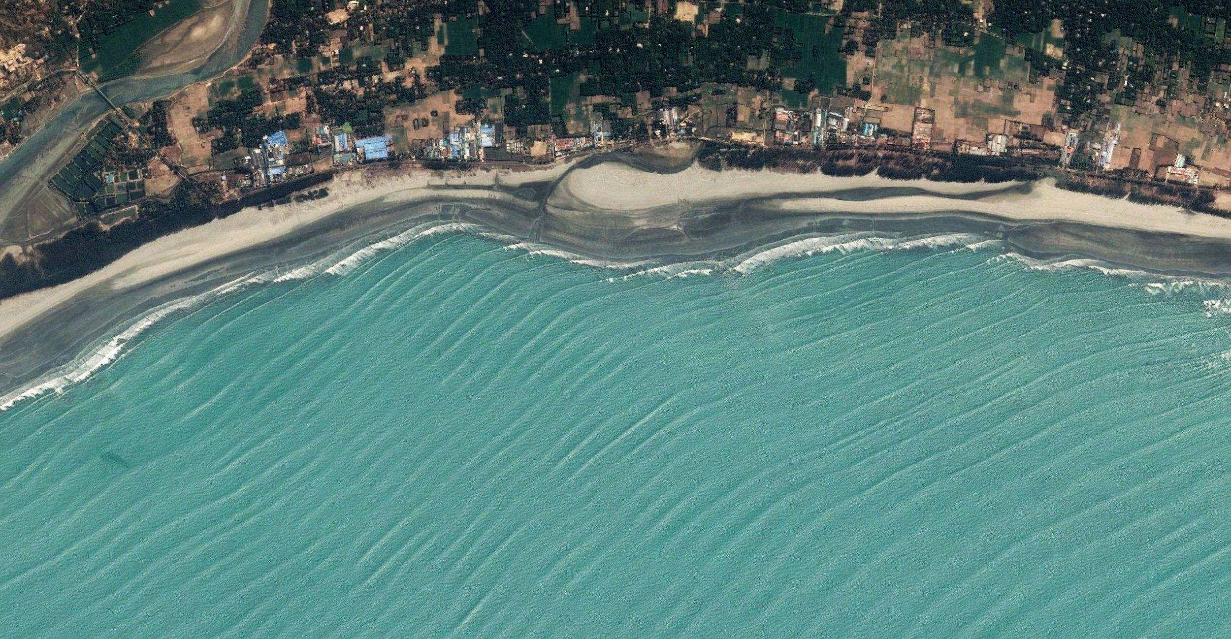 Inani beach (beach length: 5 km.)
